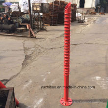 China Ground Screw, China Manufacturer Ancrage au sol, HDG Ground Helical Pole Anchor
